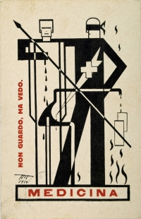 Osvaldo Bot - Medicina (futurismo) - 1929