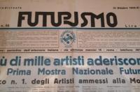 Osvaldo Bot - Prima Mostra d'Arte Futurista - 1933