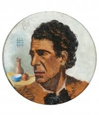 Osvaldo Bot - Autoritratto - 1942