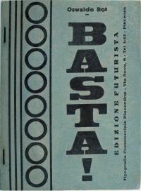 Osvaldo Bot - Basta! - 1929