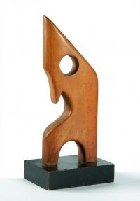 Osvaldo Bot - Madonna astratta (legno) - 1949
