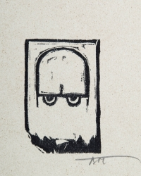Osvaldo Bot - 20 sfumoxilografie del pittore Oswaldo Bot - Duce - 1933