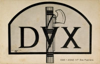 Osvaldo Bot - DUX 1928 - Anno IV era fascista - 1928