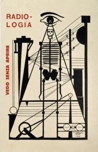 Osvaldo Bot - Radiologia (futurismo) - 1929