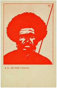 Osvaldo Bot - A.O. 16 cartoline dell'Affrica Orientale (una cartolina) - 1935