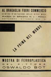 Osvaldo Bot - La prima nel mondo - 1933