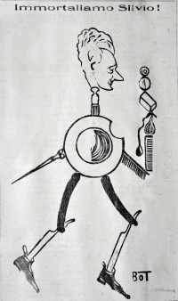 Osvaldo Bot - Immortaliamo Silvio! - 1927