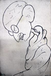 Osvaldo Bot - Gandhi - 1932