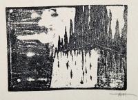 Osvaldo Bot - 20 sfumoxilografie del pittore Oswaldo Bot - Il cimitero degli eroi - 1933