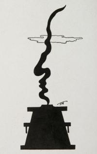 Osvaldo Bot - DUX. 14 Impressioni di Oswaldo Bot. (una tavola, Imitazione negra) - 1934