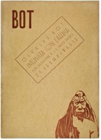 Osvaldo Bot - Intervista con l'Affrica, 28 sfumografie - 1934