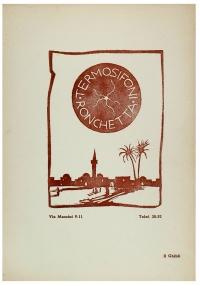 Osvaldo Bot - Intervista con l'Affrica (una sfumografia) - 1934
